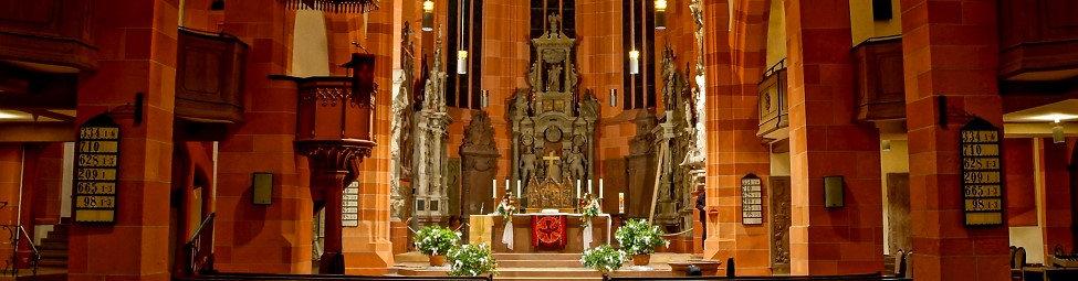 Stiftskirche Wertheim innen Quelle: Oliver C. Habiger